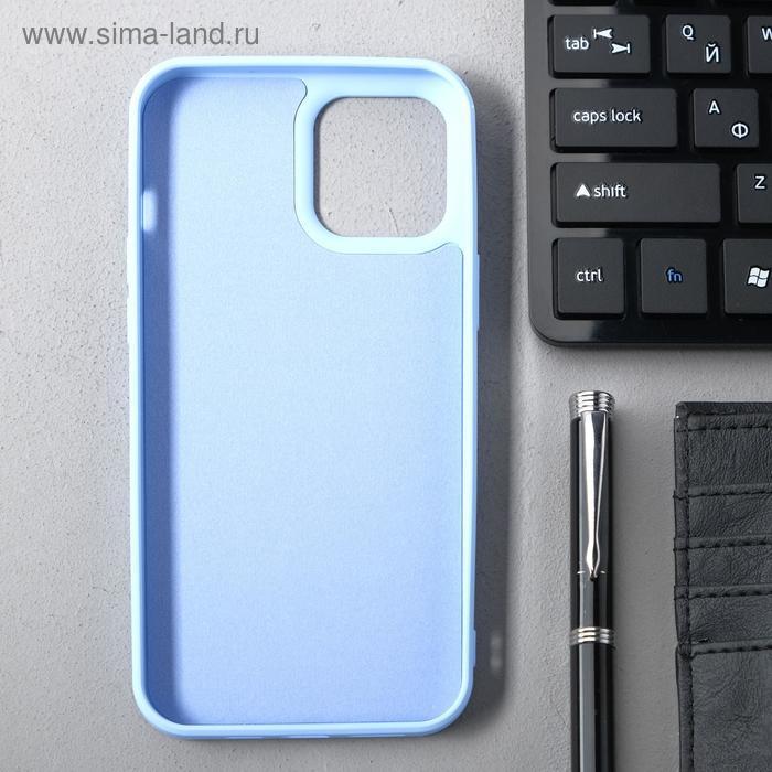 Чехол Activ Full Original Design, для Apple iPhone 12 Pro Max, силиконовый, голубой - фото 2