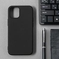 Чехол Activ Full Original Design, для Apple iPhone 12 mini, силиконовый, чёрный