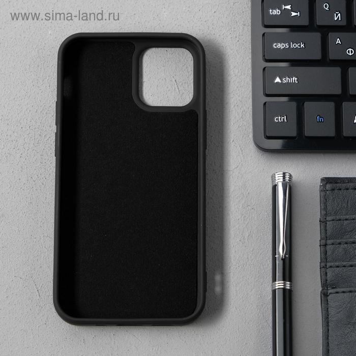 Чехол Activ Full Original Design, для Apple iPhone 12 mini, силиконовый, чёрный - фото 2