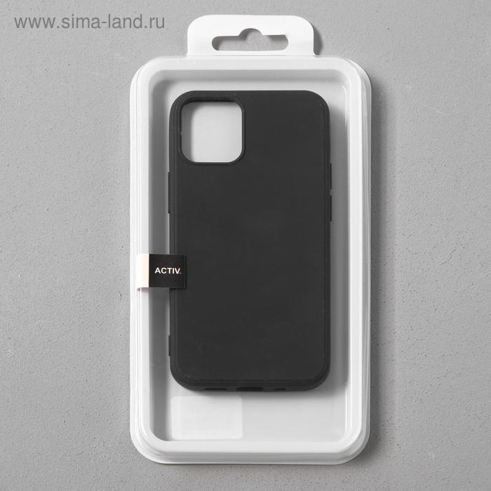 Чехол Activ Full Original Design, для Apple iPhone 12 mini, силиконовый, чёрный - фото 4