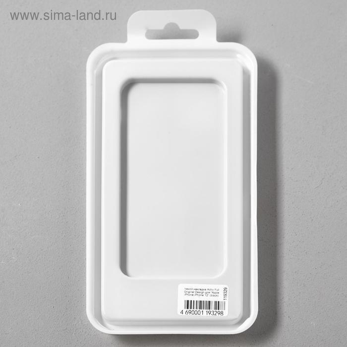 Чехол Activ Full Original Design, для Apple iPhone 12 mini, силиконовый, чёрный - фото 5