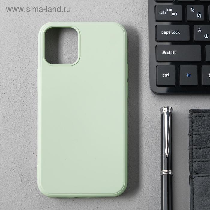 Чехол Activ Full Original Design, для Apple iPhone 12 mini, силиконовый, светло-зелёный - фото 1