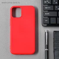 Чехол Activ Full Original Design, для Apple iPhone 12 mini, силиконовый, красный