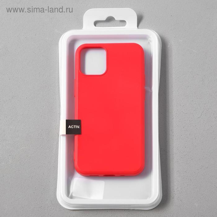Чехол Activ Full Original Design, для Apple iPhone 12 mini, силиконовый, красный - фото 4