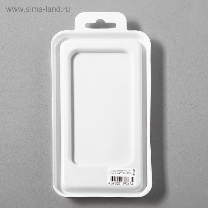 Чехол Activ Full Original Design, для Apple iPhone 12/12 Pro, силиконовый, чёрный - фото 5