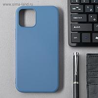 Чехол Activ Full Original Design, для Apple iPhone 12/12 Pro, силиконовый, синий