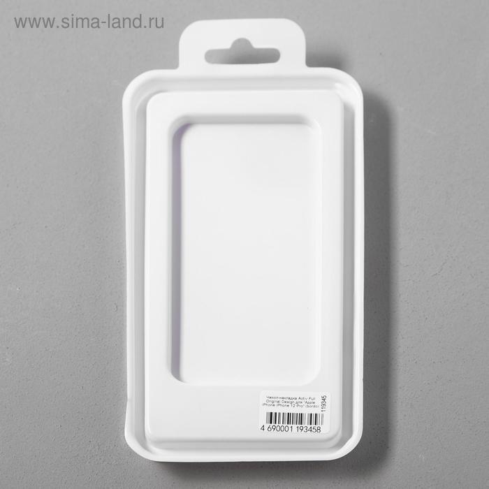 Чехол Activ Full Original Design, для Apple iPhone 12/12 Pro, силиконовый, бордовый - фото 5