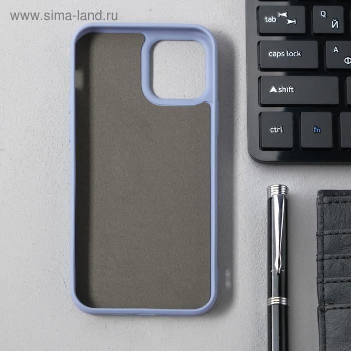 Чехол Activ Full Original Design, для Apple iPhone 12/12 Pro, силиконовый, серый - фото 2