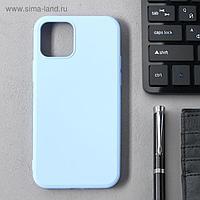 Чехол Activ Full Original Design, для Apple iPhone 12/12 Pro, силиконовый, голубой