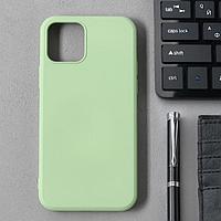 Чехол Activ Full Original Design, для Apple iPhone 12/12 Pro, силиконовый, светло-зелёный