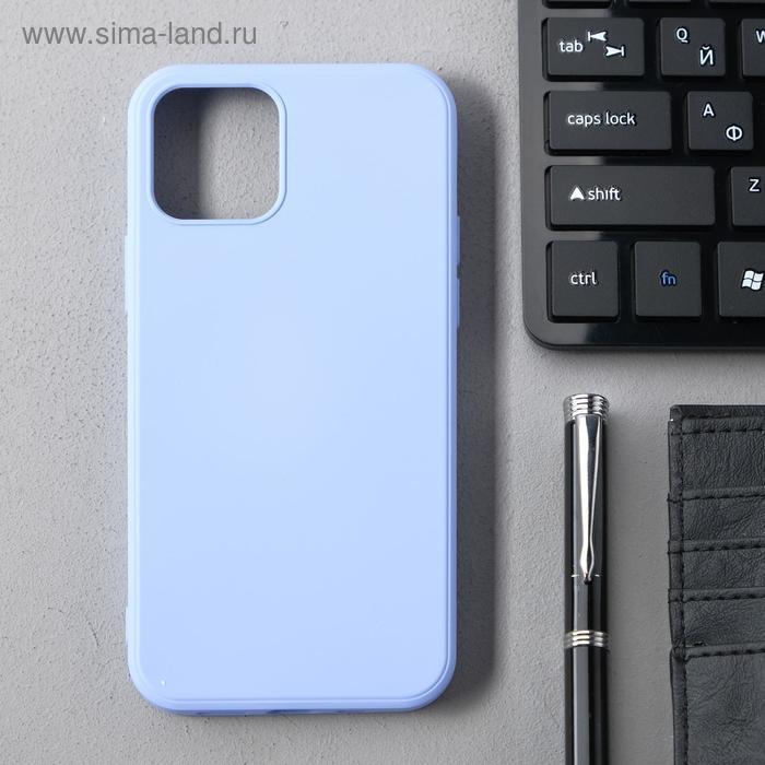 Чехол Activ Full Original Design, для Apple iPhone 12/12 Pro, силиконовый, светло-фиолетовый - фото 1