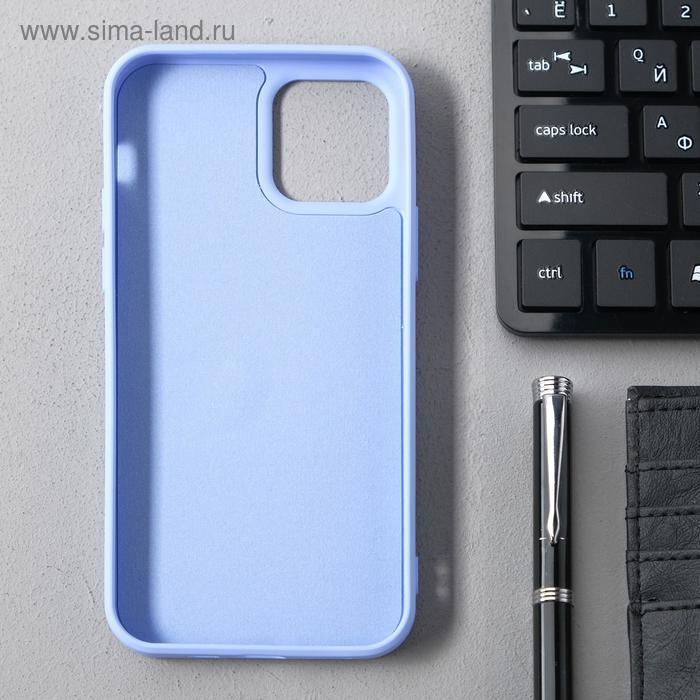Чехол Activ Full Original Design, для Apple iPhone 12/12 Pro, силиконовый, светло-фиолетовый - фото 2