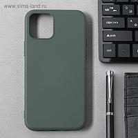 Чехол Activ Full Original Design, для Apple iPhone 12/12 Pro, силиконовый, оливковый