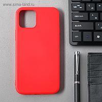 Чехол Activ Full Original Design, для Apple iPhone 12/12 Pro, силиконовый, красный