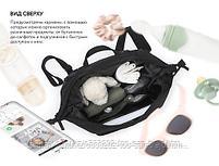 Сумка-рюкзак для мамы Happy Baby Black, фото 6