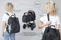 Сумка-рюкзак для мамы Happy Baby Black, фото 8