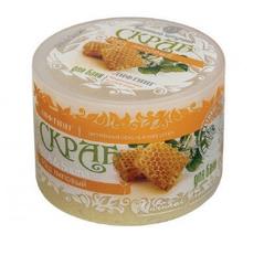 Скраб для тела сахарный липовый мед
