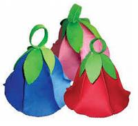 Шапка Дюймовочка (три цвета в коробке)