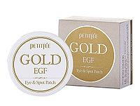 Petitfee Gold & EGF Eye & Spot Patch (60 шт) - Гидрогелевые патчи для век с золотыми частицами