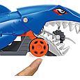 Hot Wheels Машинки Грузовик Голодная акула с хранилищем для машинок, Хот Вилс, фото 7
