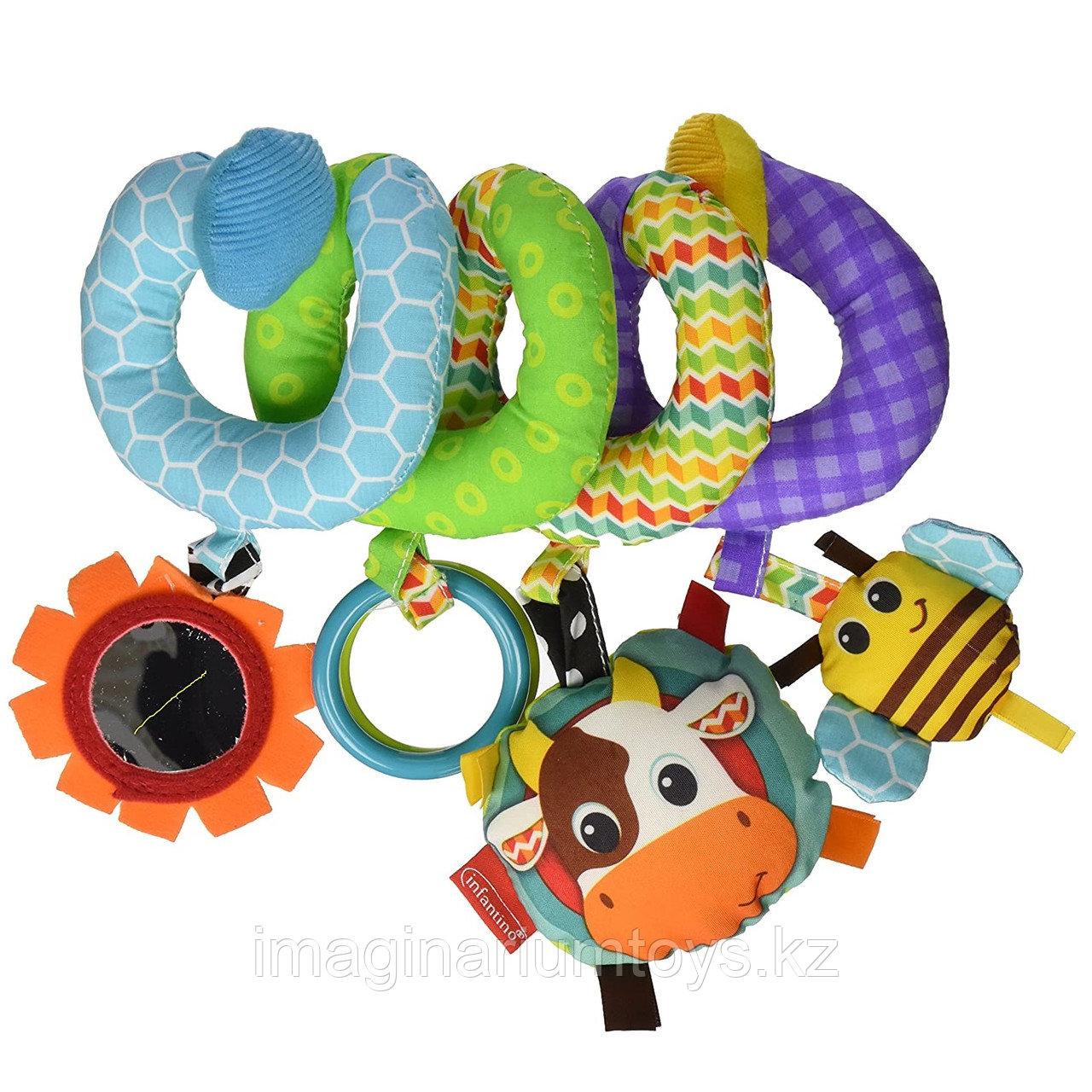 Развивающая игрушка спираль Infantino
