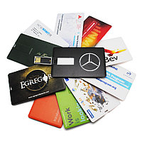 Флешка визитка с логотипом