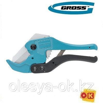 Ножницы для резки труб ПВХ, D 42 мм. GROSS 78424