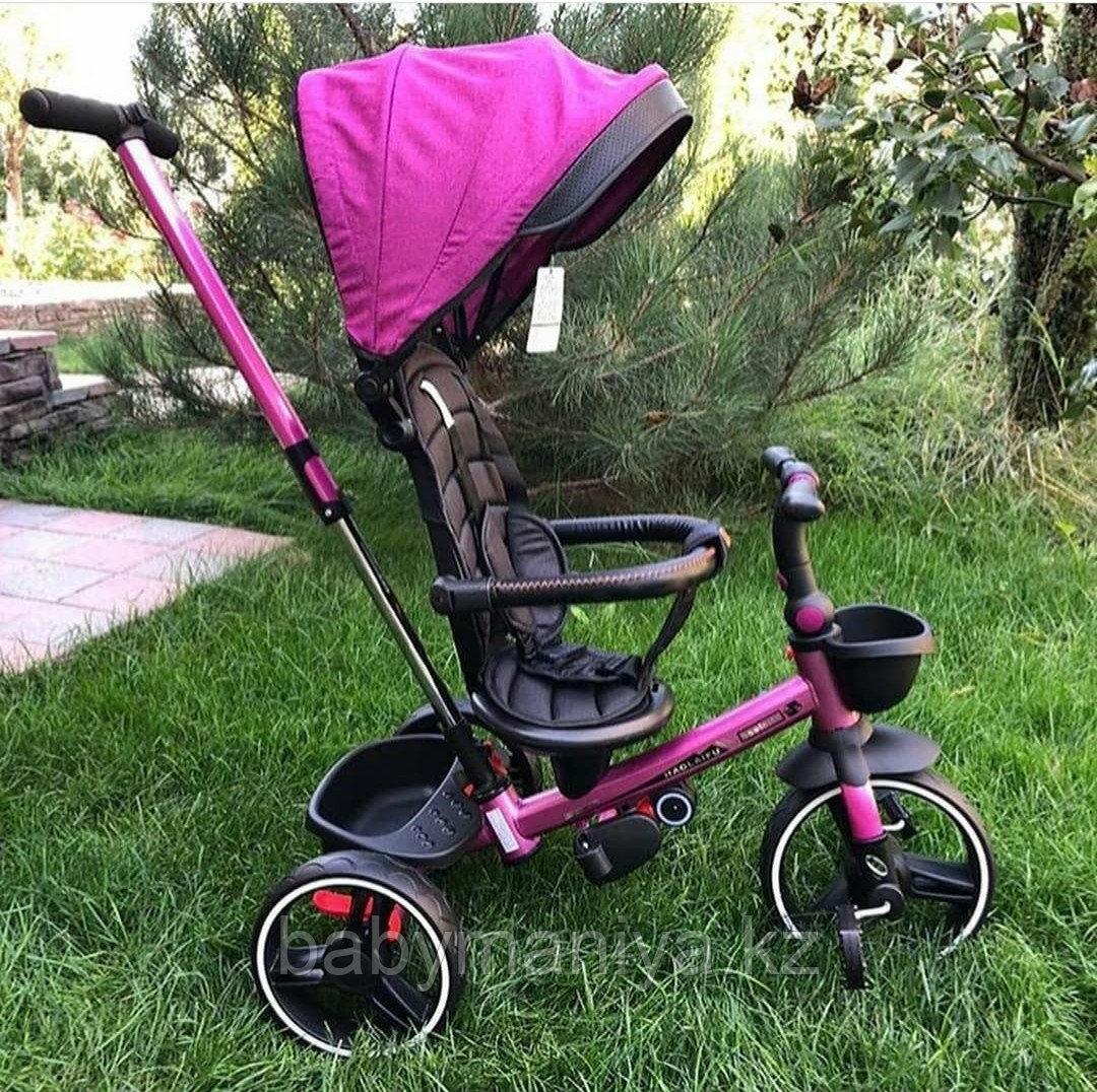 Велосипед детский трехколесный складной