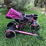 Велосипед детский трехколесный складной, фото 2