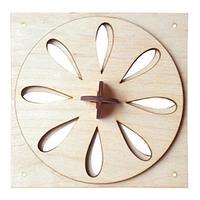 Вентиляционная задвижка пропеллер 13*13 для бани и сауны