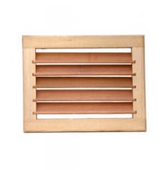 Вентиляционная решетка без задвижки (малая)