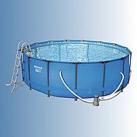 Каркасный бассейн Bestway Steel Pro Max 366 х 133 см