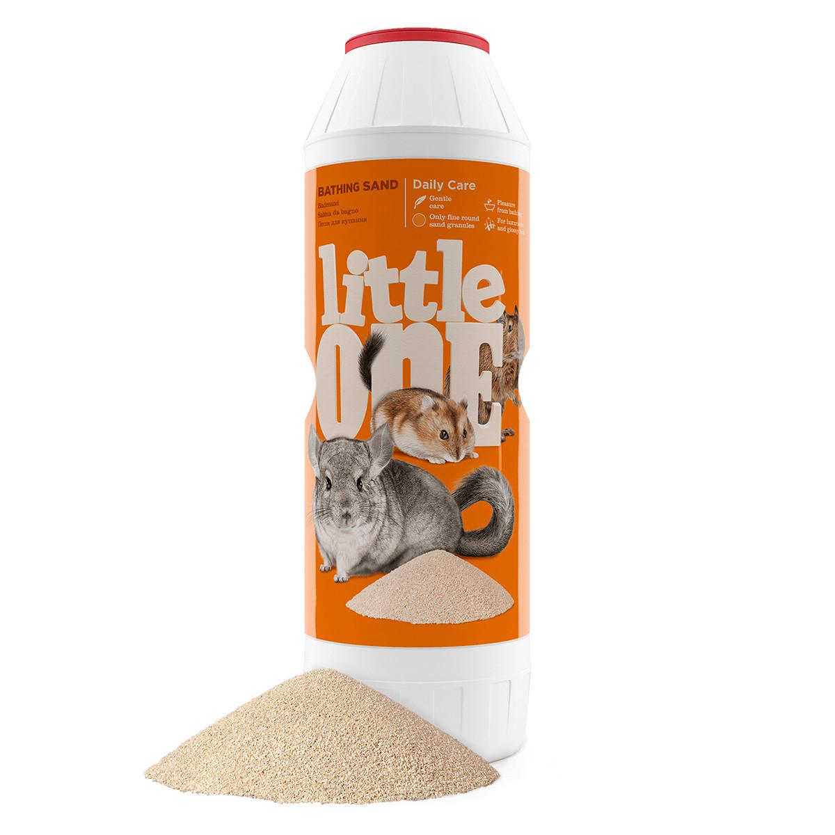 Песок для купания грызунов Little One