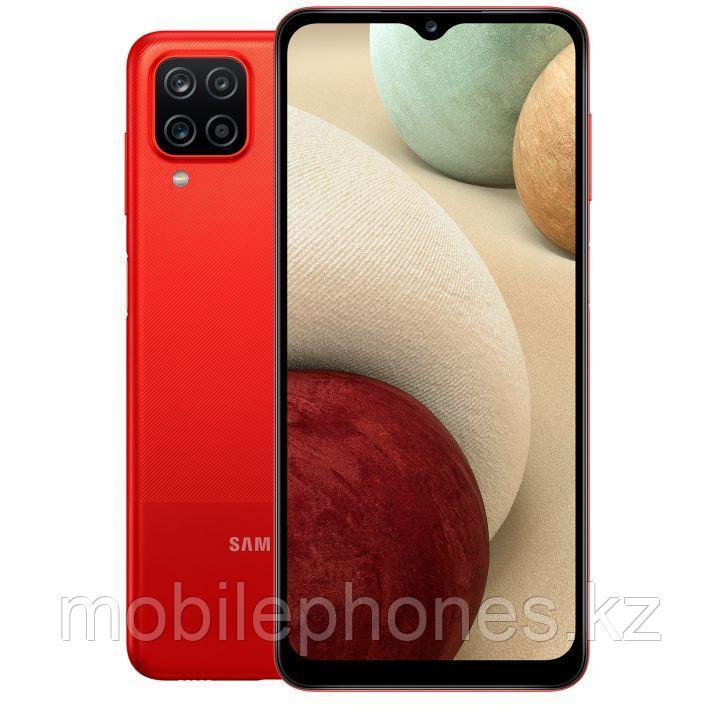 Смартфон Samsung Galaxy A12 64Gb Красный