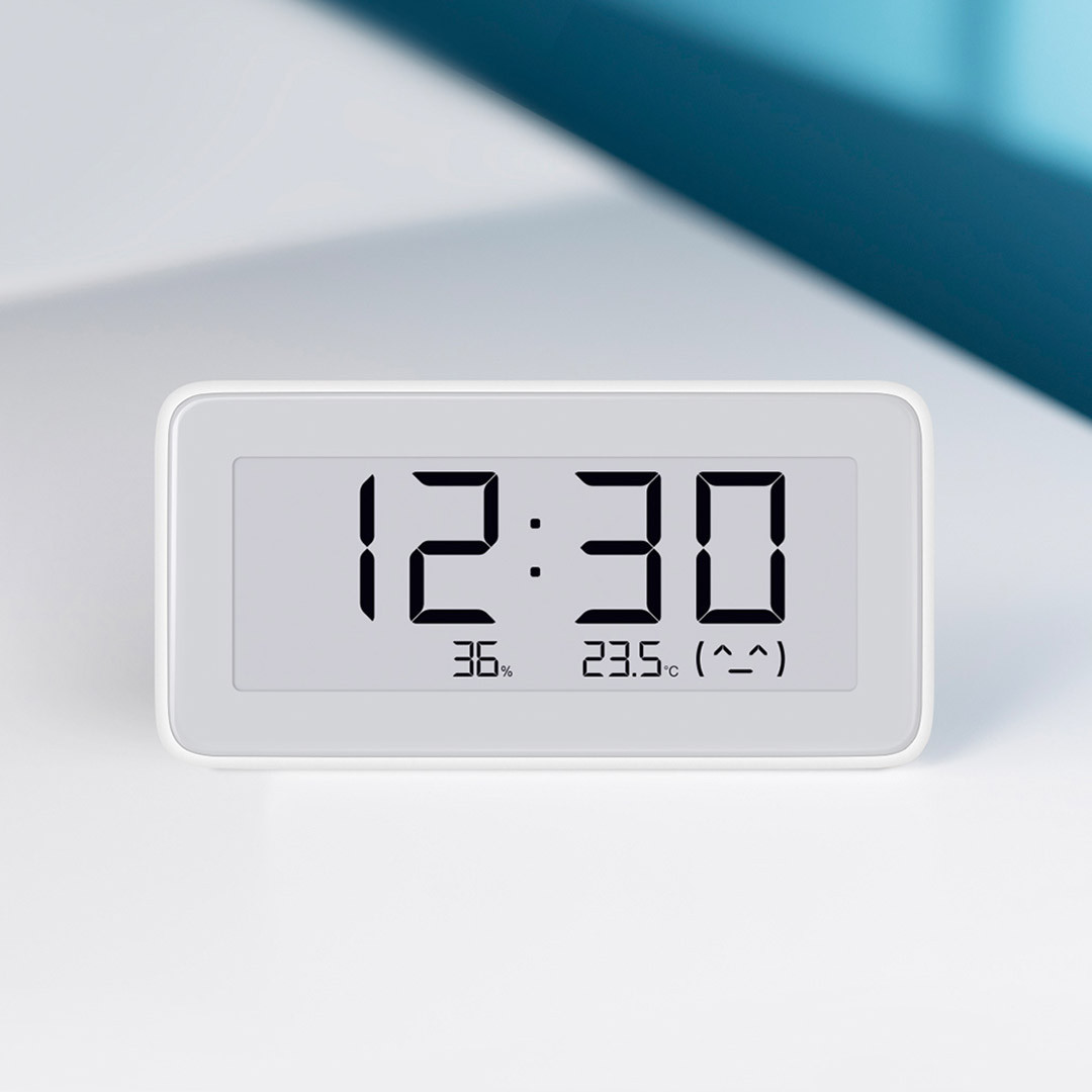 Термометр-часы и гигрометр Xiaomi Mijia BT4.0 Wireless Smart Electric Digital Clock