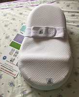Dolce Bambino Матрас-кокон для новорожденных Dolce Cocon цвет белый 70 х 41 х 18