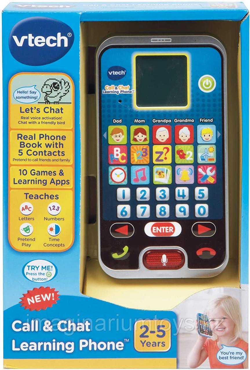 Развивающая интерактивная детская игрушка Телефон Vtech