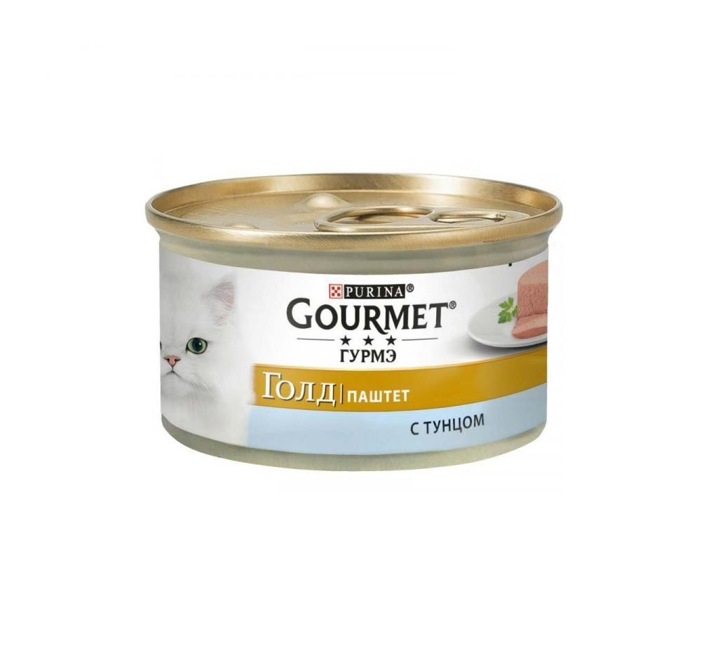 Gourmet Gold паштет с тунцом, банка 85 гр.