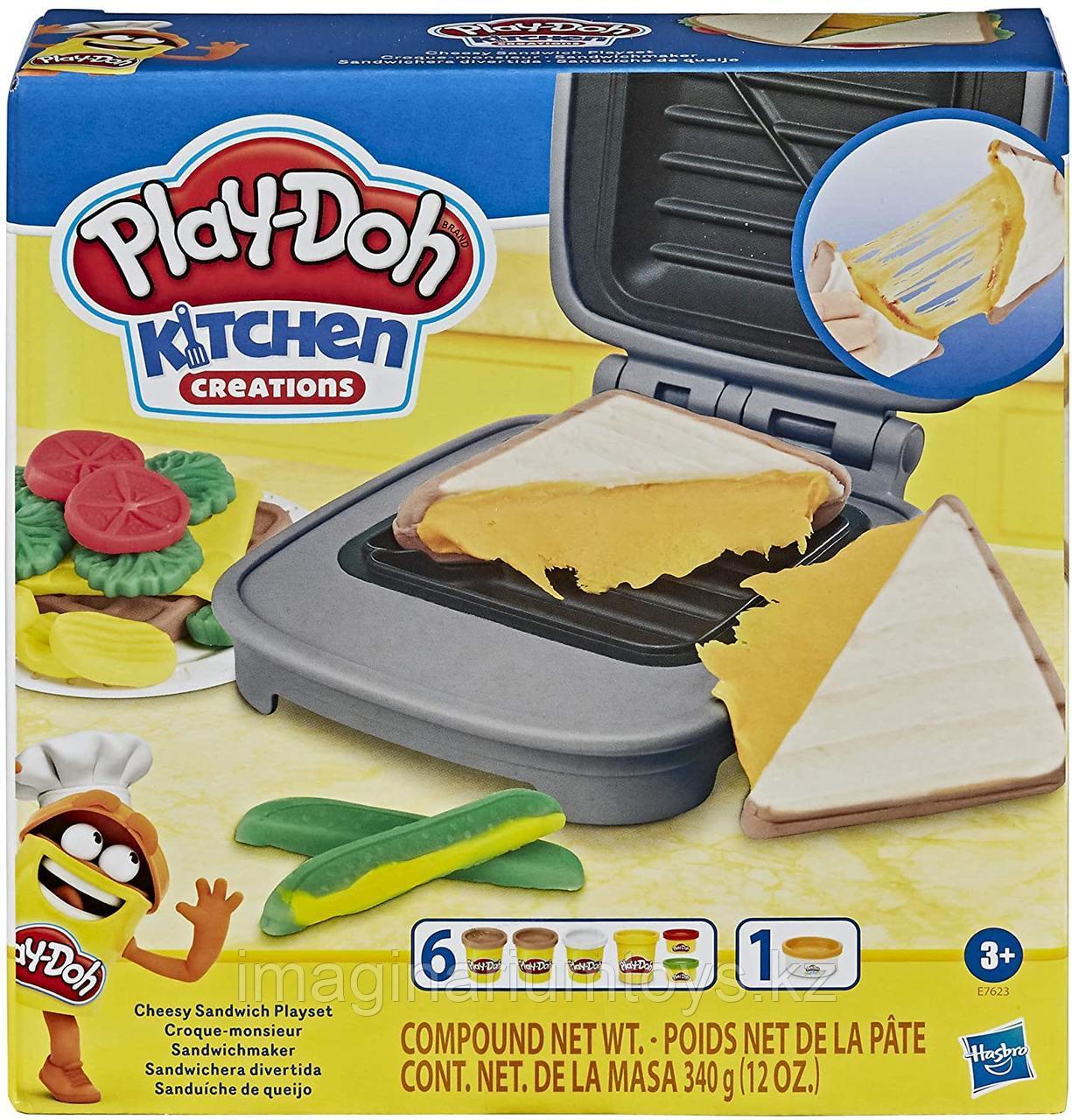 Play-Doh Плейдо игровой набор пластилина «Сендвич»