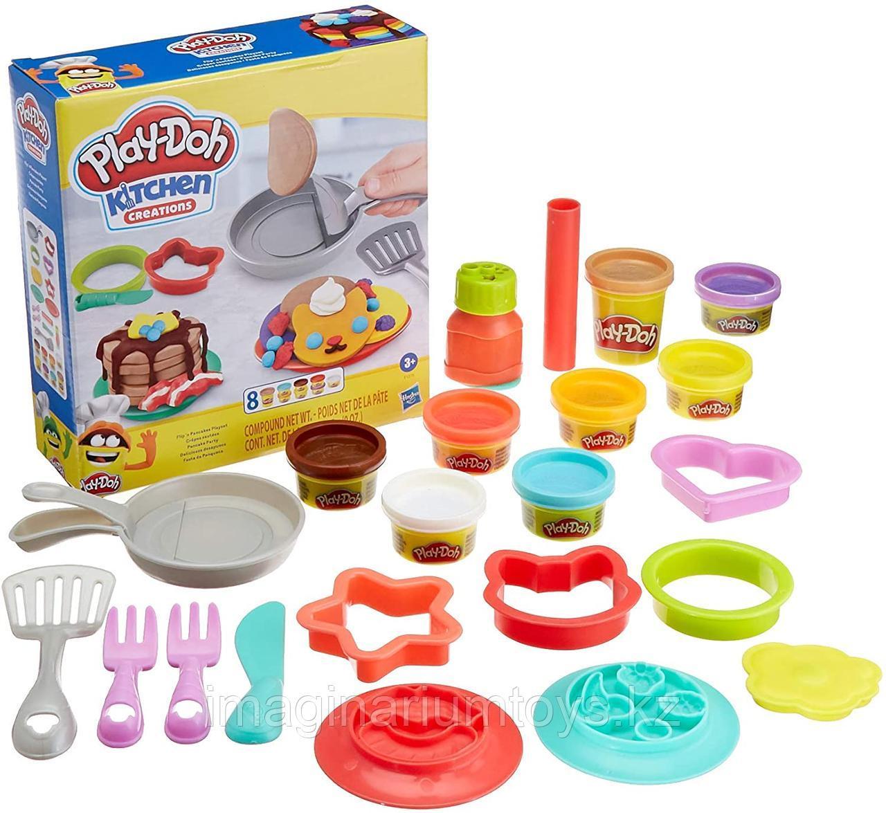 Play-Doh Плейдо игровой набор пластилина «Блинчики»