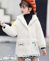 Пальто серия «Котики» на девочек.