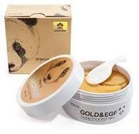 Патчи гидрогелевые омолаживающие для глаз от морщин GOLD&EGF 60 шт. KOREA