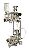 Насосно-смесительный узел VALTEC с термо, без насоса, монтажная длина насоса 180 мм (VT.COMBI.0.180)