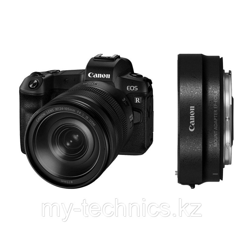 Canon EOS R kit RF 24-105mm f/4L IS USM + Mount Adapter Canon EF-EOS R   гарантия 2 года