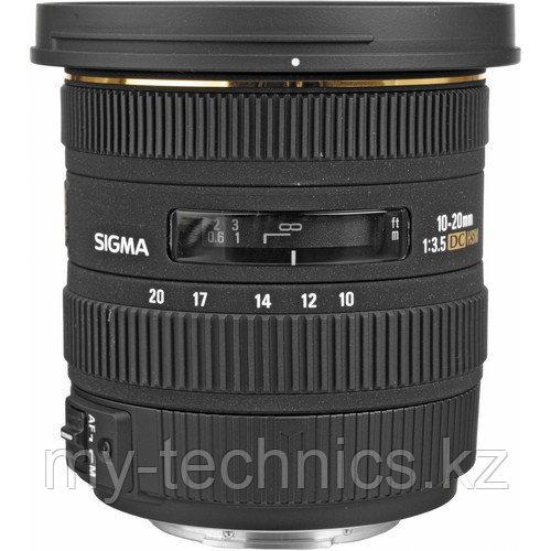 Объектив Sigma 10-20mm f/3.5 EX DC HSM Canon