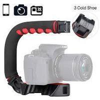 U-образный держатель для камер Ulanzi U-Grip Pro черный 1108, фото 1