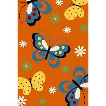 Прямоугольный ковёр Crystal 0772, 160 х 230 см, цвет orange