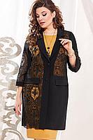 Женский осенний нарядный большого размера комплект с платьем Vittoria Queen 13433 50р.