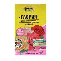 Удобрение сухое Фаско 5М Глория минеральное для роз гранулированное 1 кг
