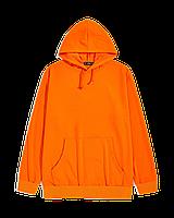 """Худи Х/Б, (р-р: 36) """"Fashion kid"""", Турция, двухнитка петля, цвет: оранжевый"""